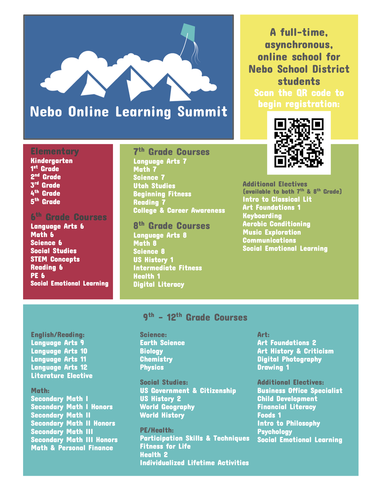 Nebo Online Learning System