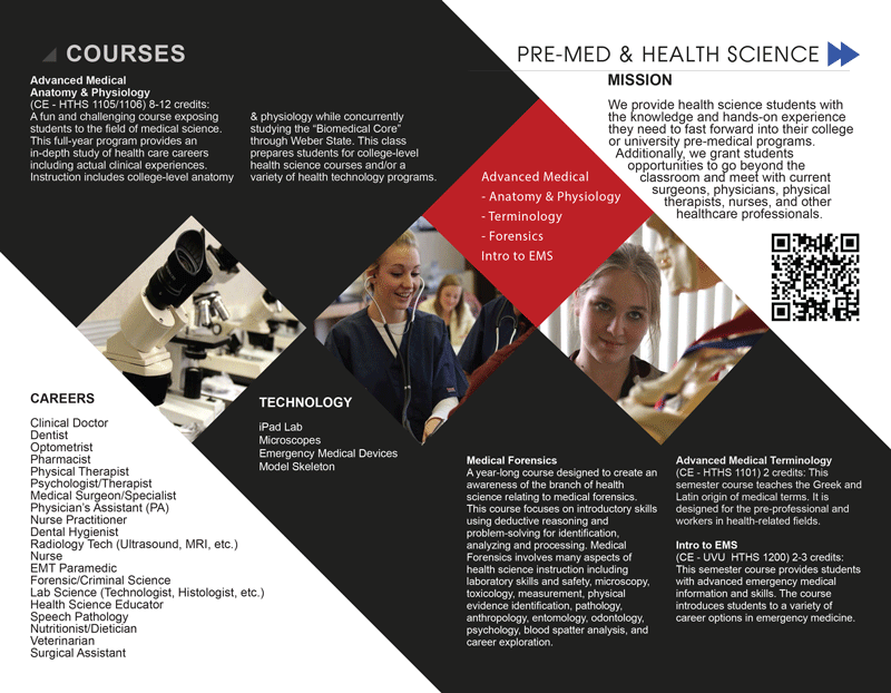 Pre-Med & Health Science | Advanced Learning Center